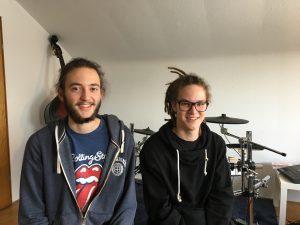 Jonas und Tobias - die neuen Musiklehrer in Pfuhl bei Neu Ulm